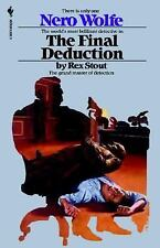 The Final Deduction (Nero Wolfe) by Stout, Rex