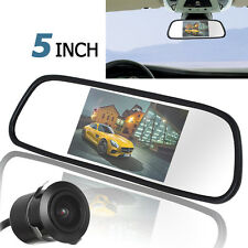 "420TVL 18mm Lens Reverse Camera + 5"" TFT LCD 480 x 272 Car Rear View Monitor Kit"