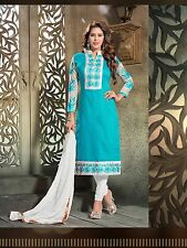 Bollywood India Pakistan Salwar kameez Anarkali Designer Ethnic Party Wear Dress