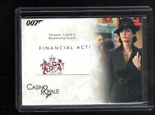 James Bond in Motion RC21  Relic card147/185