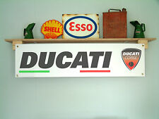 Ducati Corse classic banner for workshop or garage, Desmosedici, Moto GP