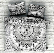 Queen Size Bedspreads Indian Mandala Tapestry Hippie Bohemian Bedding Set Throw