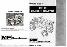 Massey Ferguson MF-14 MF14 SERVICE and PARTS Manuals  SAVE DISCOUNT - SET of 2