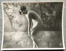 Photo érotique NU FEMININ Erotica NUDE Erotisme ORIGINAL 1920 b *
