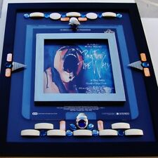 "Pink Floyd ""The Wall"" Rock Opera, Rare Capacitance Electronic Disc, Framed, 1982"