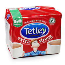 New Tetley Extra Strong 160 Tea Bags 500g