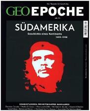 GEO EPOCHE SüDAMERIKA (MIT DVD)