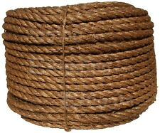 "1/2"" Manila Rope Cut in 4' Lengths for $0.99 Nautical Landscape Fitness Dock"