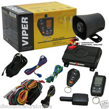 2015 VIPER 2-WAY CAR ALARM SYSTEM W/ KEYLESS ENTRY AND 2-WAY LCD REMOTE