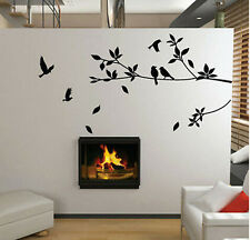 Removable Wall Sticker Mural Decal Vinyl Bird Tree Kids Room Home Decor DIY Art