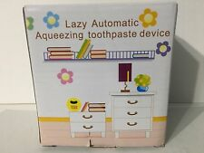 Lazy Automatic Toothpaste Dispenser Easy Squeezing Holder Wall Mount Bathroom