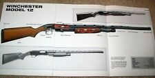 HUGE! WINCHESTER MODEL 12 POSTER ad picture print gun fire arm rifle