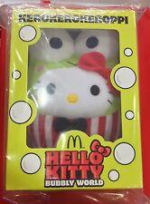 McDonald's Singapore Hello Kitty KEROKEROKEROPPI Bubbly World Collector's Set A