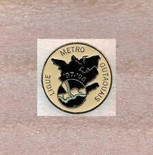 1997-98 League of Metro Outaouais Hockey Quebec Canada Official Pin Old