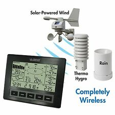 La Crosse Digital Weather Station Indoor Outdoor Professional Rain Temperature