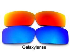 Galaxis Ersatzgläser Für Oakley Gascan Blau & Rot Polarisierend 2 Paare