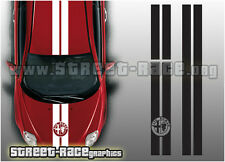 Alfa Romeo OTT 003 racing stripes graphics stickers decals bonnet roof rear