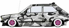 MK1 POLO CAMOUFLAGE GRAPHIC /STICKER( VW / DRIFT STYLE) X1