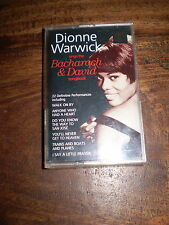 DIONNE WARWICK SINGS 22 BACHARACH & DAVID HITS SONGBOOK,CASSETTE TAPE