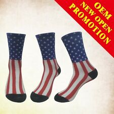 New American USA Star Flag Stripes Fashion Casual Crew Ankle Glory Socks Unisex