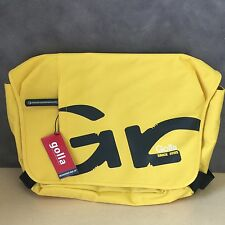 "NEW, Genuine Golla G1437 Fanta Yellow 16"" Laptop Bag Messenger Style"