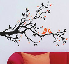Tree Branch Love Birds Wall Decor Large Huge Home Decoration Hearts JM7051