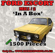 FORD Escort Mk1 / Mk2 – Ultimate Restoration / Fastener Set – over 1500 Pieces