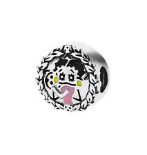 Personality Collection Betty Boop Sterling Silver Betty Boop Soccer Bead Charm