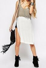 Free People Twofer Sweater Tank Top -Ivory Combo- M RRP £98