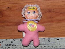 VERY RARE THE HEART FAMILY BABY DOLL PLUSH TOY 1986 MATTEL