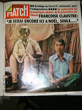 Paris Match N° 1372 13/9/1975 Lacome Lucien Ford Corse Claustre Giscard Gabin