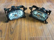 1Pair Front Bumper Fog Lights Driving Lamps For Mitsubishi Outlander 2003-2006