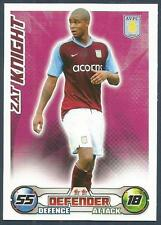 TOPPS MATCH ATTAX 2008-09-ASTON VILLA-ZAT KNIGHT