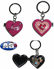Chunky Heart photo/mirror Love keyring - key-fob