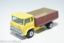 EDOCAR HONG KONG TRUCK YELLOW BROWN EXCELLENT CONDITION REPAINT