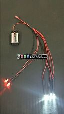 RC LED Light kit for radio control car truck plane 4 White 2 Red 5mm 4W2R