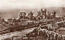 Childrens Playground Butlins Holiday Camp Filey RP pc used 1953 Butlins