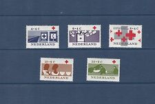 Netherlands 1963 Red Cross Fund Set Mint Never Hung SG953-7