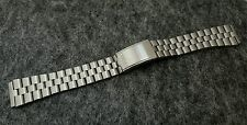19mm seiko fishbone bracelet  bellmatic ,  seiko sports vintage new watch strap