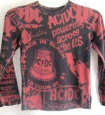 TRUNK LTD..AC/DC...HELLS BELL...ROCK & ROLL...T-SHIRT...NEW w TAG..CHILD sz 6