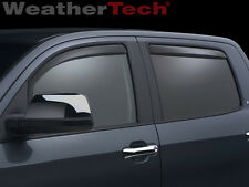 WeatherTech® Side Window Deflectors -Toyota Tundra - 2007-2016 - Crew Max - Dark