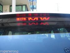 BMW X5 E70 3rd brake light decal overlay 2013