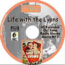 Life with The Lyons - 41  Old Time Radio Shows - Audio MP3 CD