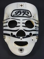 Vintage DR Daignault Rolland HB8 White Black Hockey Goalie Mask Street Hockey