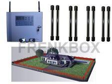 Allarme antifurto WIRELESS GSM 433Mhz con barriera perimetrale anti-intrusione