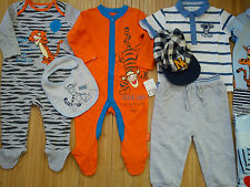 NICE DISNEY TIGER NEW BUNDLE OUTFITS  BABY BOY 6/9 MTHS 9/12 MTHS (2.5)NRB27