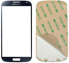 GENUINE Samsung Galaxy S4 i9500 Black Mist Gorilla Glass Outer Screen Original