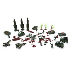 307x/1 set Soldier Kit Grenade Tank Aircraft Rocket Army Men Sand Scene Model