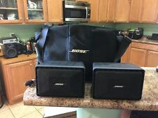BOSE ROOMMATE II  INDOOR/OUTDOOR SPEAKER SYSTEM WITH CASE LQQK!!