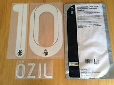 2011-12 OZIL#10 La Liga/UCL 3RD Away Shirt OFFICIAL SportingiD Name Number Set
